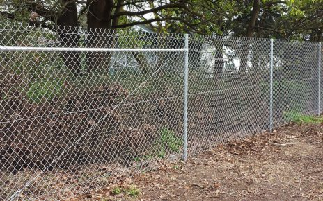 Should You Worry About Rust On Your Chainwire Fencing?